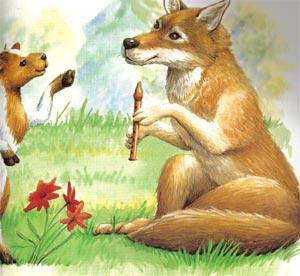 Animale Iedul si lupul cântaret modul de viata si caracteristicile lui animal .com .ro