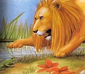 Animale Leul si broasca modul de viata si caracteristicile lui animal .com .ro