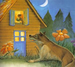 Animale Lupul, mama si copilul modul de viata si caracteristicile lui animal .com .ro